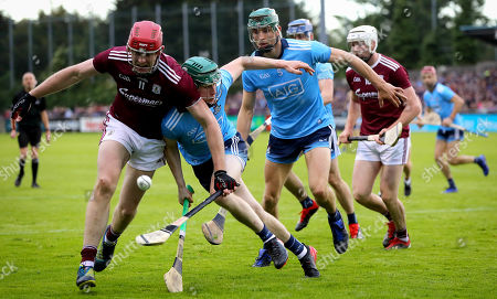 Dublin vs Galway . Dublin's James Madden and Jonathan Glynn of Galway