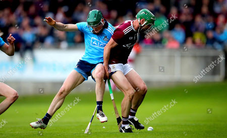 Dublin vs Galway . Dublin's Tom Connolly and David Burke of Galway