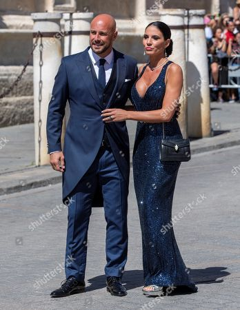 Editorial photo of Wedding of Sergio Ramos and Pilar Rubio, Sevilla, Spain - 15 Jun 2019