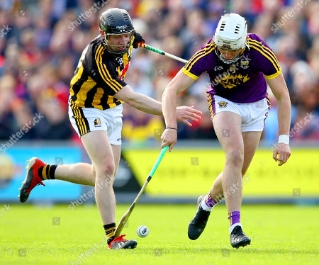 Wexford vs Kilkenny. Kilkenny's Enda Morrissey and Rory O'Connor of Wexford
