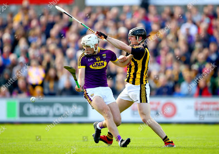 Stock Photo of Wexford vs Kilkenny. Wexford's Rory O'Connor and Enda Morrissey of Kilkenny