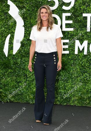 Missy Peregrym attends photocall for the TV show 'FBI'