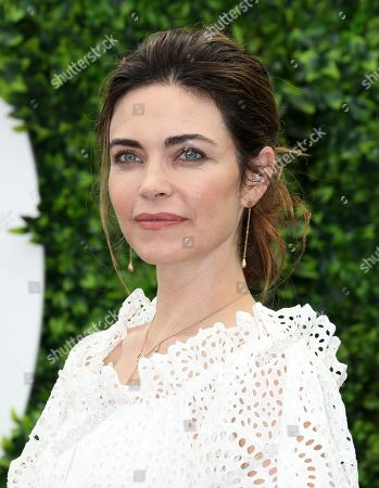 Amelia Heinle attends photocall for the TV show 'The Young and the Restless'