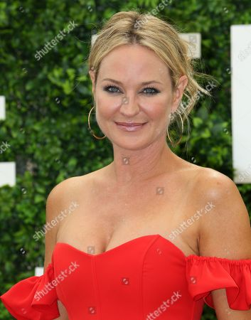 Sharon Case attends photocall for the TV show 'The Young and the Restless'