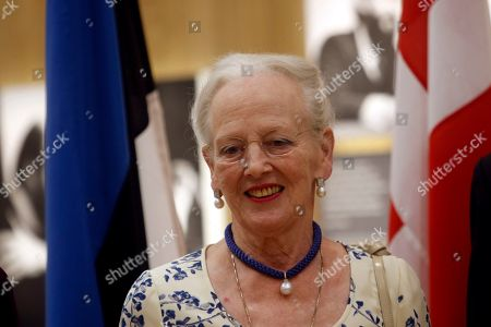 Queen Margrethe II of Denmark arrives for a gala dinner at the Arvo Part Center in Laulasmaa, Estonia, 15 June 2019. Queen Margrethe II of Denmark visits Tallinn from 15 to 16 June to take part in celebrations of the 800th anniversary of the Danish flag, the 135th anniversary of the Estonian flag, Estonia's centennial as well as Estonian-Danish relations.