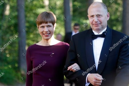 Editorial image of Queen Margrethe II of Denmark visit on occasion of 800th anniversary of Danish flag, Laulasmaa, Estonia - 15 Jun 2019