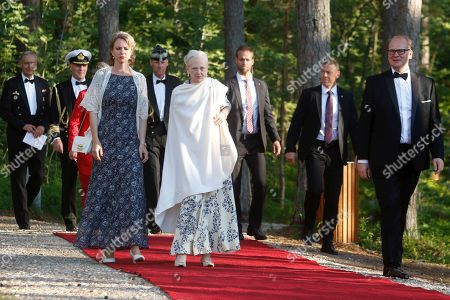 Editorial picture of Queen Margrethe II of Denmark visit on occasion of 800th anniversary of Danish flag, Laulasmaa, Estonia - 15 Jun 2019