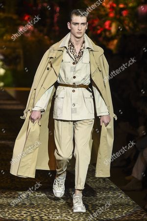 1c5912e5ec90 Editorial picture of Dolce & Gabbana show, Runway, Spring Summer 2020, Milan  Fashion