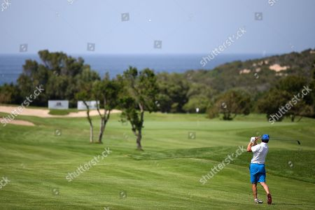 Gianfranco Zola (winner of the Costa Smeralda Invitational golf tournament)