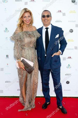 Federica Fontana and Felice Rusconi