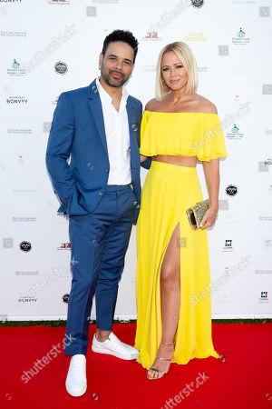 Justin Scott and Kimberley Walsh