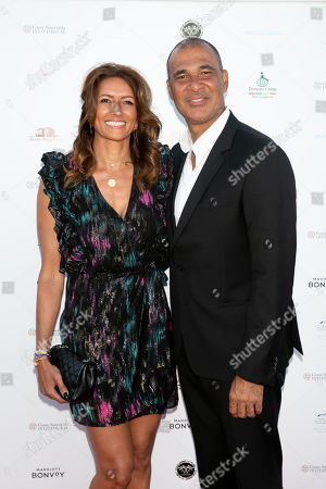 Karin de Rooy and Ruud Gullit