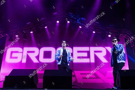 Andy Samberg, Jorma Taccone. Andy Samberg, left, and Jorma Taccone of The Lonely Island perform at the Bonnaroo Music and Arts Festival, in Manchester, Tenn