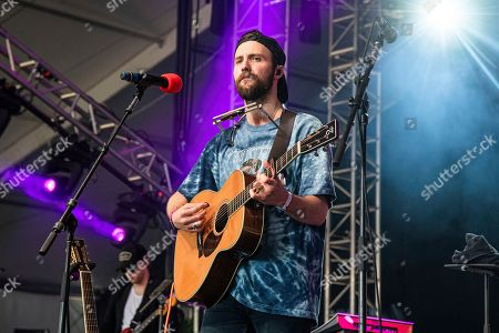 Ruston Kelly performs at the Bonnaroo Music and Arts Festival, in Manchester, Tenn