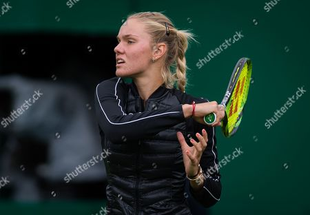 Sofya Zhuk of Russia in action during qualifications