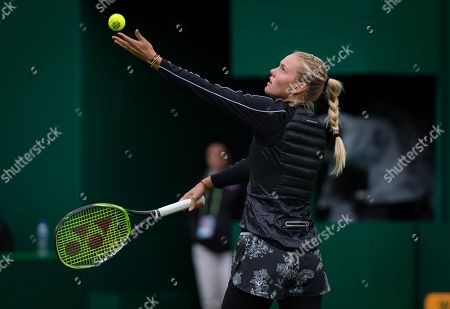 Stock Picture of Sofya Zhuk of Russia in action during qualifications