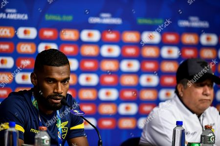 Editorial photo of Training of the Ecuador team in the Copa America, Belo Horizonte, Brazil - 15 Jun 2019