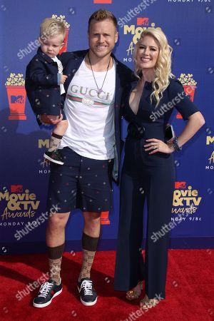 Heidi Montag, Spencer Pratt and son Gunner