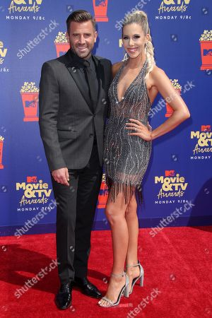 Jason Wahler and wife Ashley