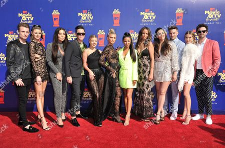 "James Kennedy, Raquel Leviss, Billie Lee, Tom Sandoval, Ariana Madix, Lala Kent, Scheana Shay, Kristen Doute, Kate Maloney, Tom Schwartz, Stassi Schroeder, Beau Clark. The cast of ""Vanderpump Rules"" arrives at the MTV Movie and TV Awards, at the Barker Hangar in Santa Monica, Calif. From left are, James Kennedy, Raquel Leviss, Billie Lee, Tom Sandoval, Ariana Madix, Lala Kent, Scheana Shay, Kristen Doute, Kate Maloney, Tom Schwartz, Stassi Schroeder, and Beau Clark"