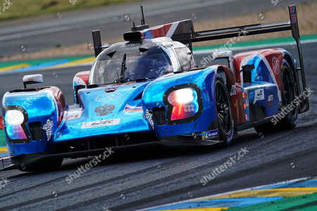SMP Racing (starting no.11) in a BR engineering BR1 AER with Vitaly Petrov of Russia, Mikhail Aleshin of Russia and Stoffel Vandoorne of Belgium in action during the Le Mans 24 Hours race in Le Mans, France, 16 June 2019.  The race is scheduled to finish at 3pm.
