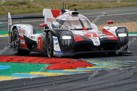 Editorial photo of Le Mans 24-hour race, France - 16 Jun 2019