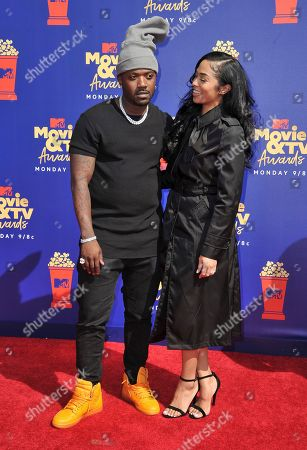 Ray J, Princess. Ray J, left, and Princess arrive at the MTV Movie and TV Awards, at the Barker Hangar in Santa Monica, Calif