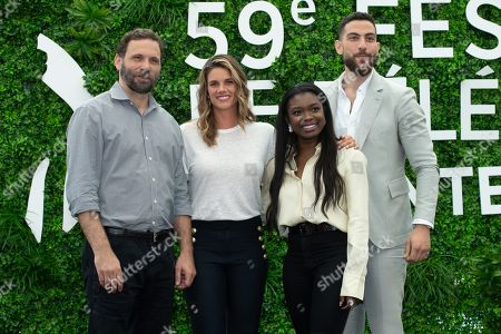 Stock Picture of Jeremy Sisto, Missy Peregrym, Ebonee Noel and Zeeko Zaki