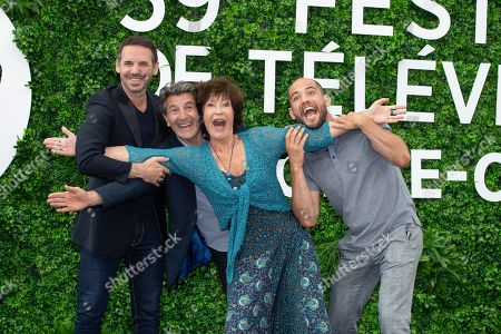 Editorial image of 'Un Si Grand Soleil' TV show photocall, 59th Monte Carlo Television Festival, Monaco - 15 Jun 2019