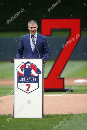 Editorial photo of Royals Twins Baseball, Minneapolis, USA - 15 Jun 2019