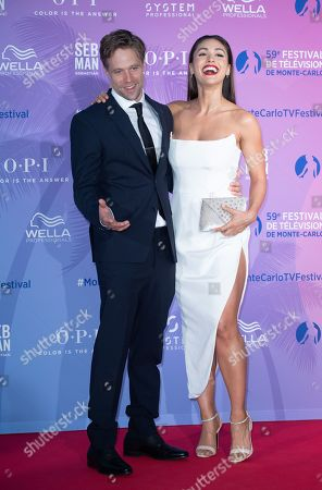 Lindsey Morgan and her boyfriend