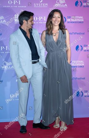 Nicholas Gonzalez and Christina Chang