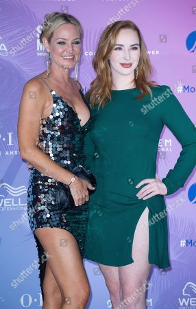 Camryn Grimes and Sharon Case