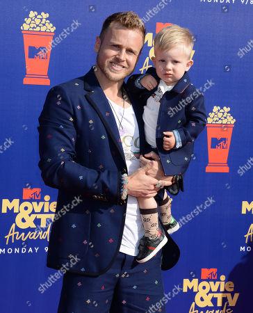Spencer Pratt and son Gunner Stone