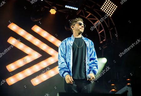 Jorma Taccone of The Lonely Island performs at the Bonnaroo Music and Arts Festival, in Manchester, Tenn