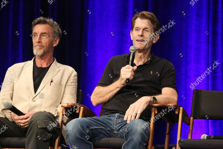 John Glover and Kevin Conroy
