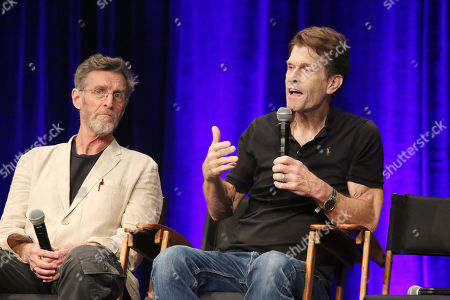 Stock Photo of John Glover and Kevin Conroy