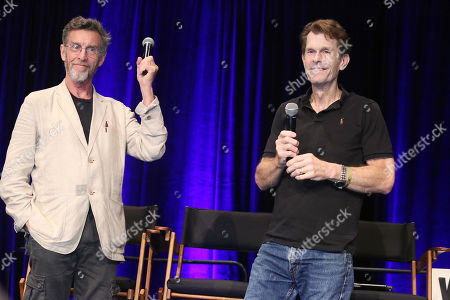 Stock Image of John Glover and Kevin Conroy