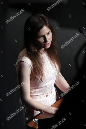 Stock Picture of Amanda Knox