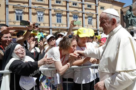Pope Francis visit to Camerino