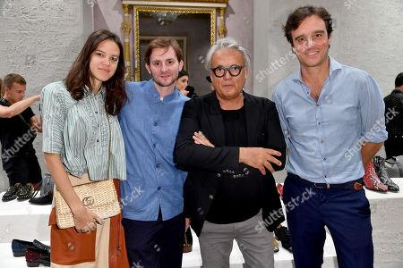 Francesca Ragazzi, Alan Prada, Giuseppe Zanotti, Emanuele Farneti