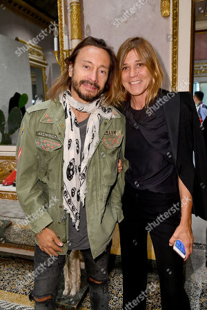 Stock Photo of Bob Sinclar, Paola Properzi Curti