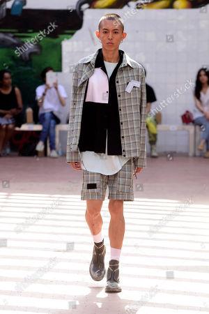 Number 00 show, Runway, Milan Fashion Week Men's