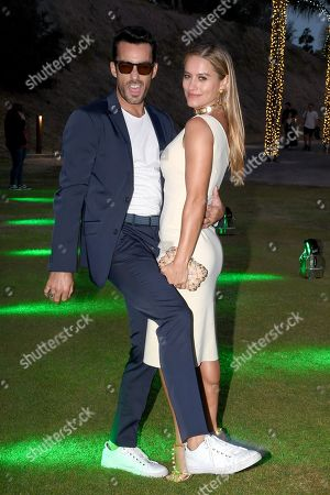 Stock Image of Lola Ponce with Aaron Diaz