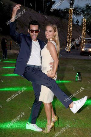 Lola Ponce with Aaron Diaz