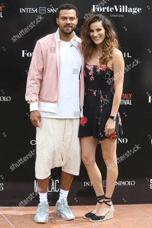 Stock Picture of Stefania Spampinato and Jesse Williams