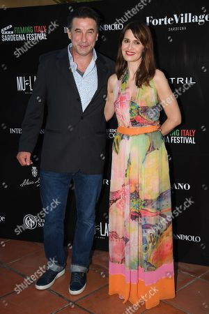 William Baldwin with Paola Cortellesi