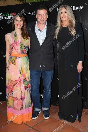 William Baldwin with Tiziana Rocca and Paola Cortellesi