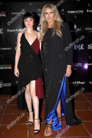 Alice Pagani with Tiziana Rocca