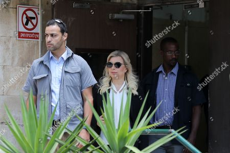 Sara Netanyahu (C), the wife of Israeli Prime Minister Benjamin Netanyahu, leaves the  Jerusalem's Magistrate Court, Israel, 16 June 2019. Sara Netanyahu attended a hearing on a plea deal over the misuse of state funds for meals at the premier's residence.